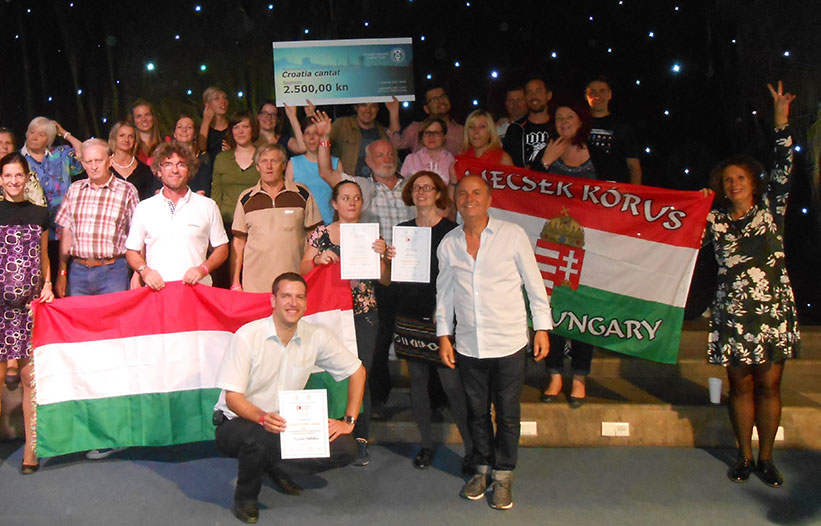 Sikerek a Croatia Cantat Fesztiválon